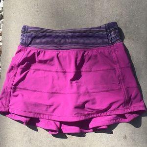 Lululemon Purple Workout Skort Size 2
